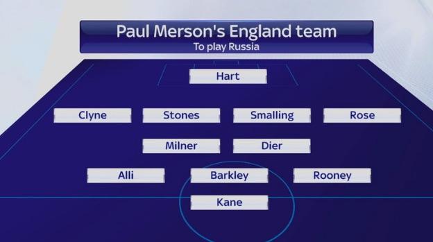 Paul Merson England XI