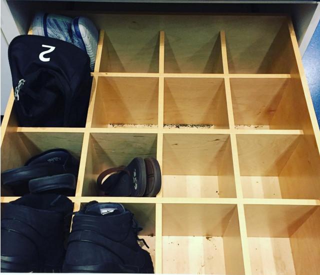 Ransacked Vancouver Whitecaps locker