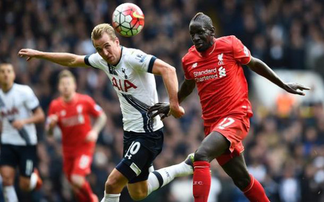 Harry Kane Liverpool vs Tottenham Hotspur