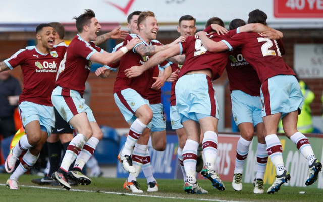 PROMOTED! Burnley secure Premier League promotion