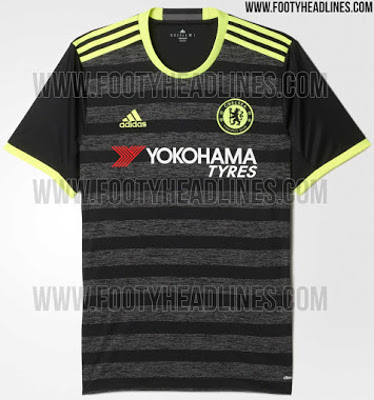 reputable site 86f17 1f5c5 Chelsea away kit LEAKED - Black and Yellow for the Blues