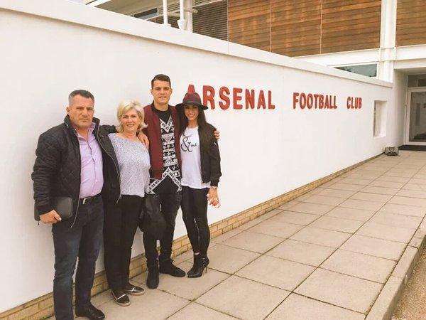 Granit Xhaka at Arsenal