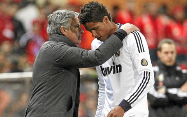 Jose Mourinho & Raphael Varane