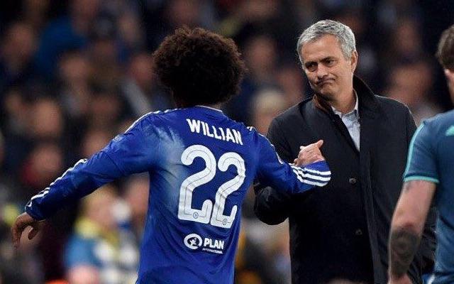 Jose Mourinho & Willian
