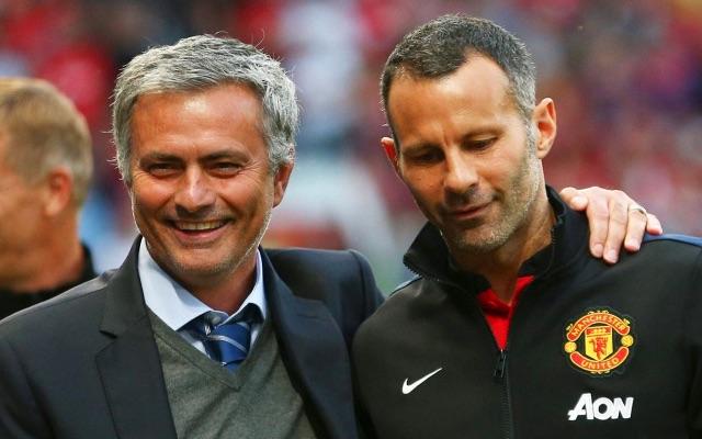 Man United legend Giggs in dig at Mourinho