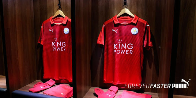 Leicester City away kit 2