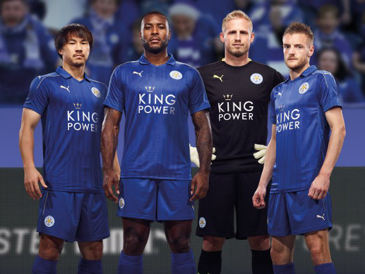 Leicester City kit 1