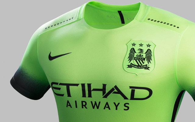 Man City third kit