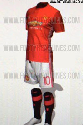 Man United kit 2