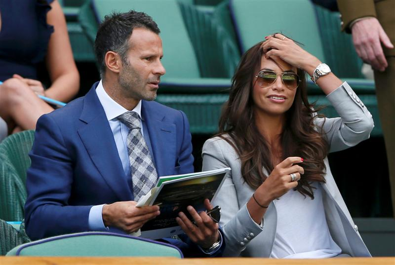 Stacey Giggs WAG
