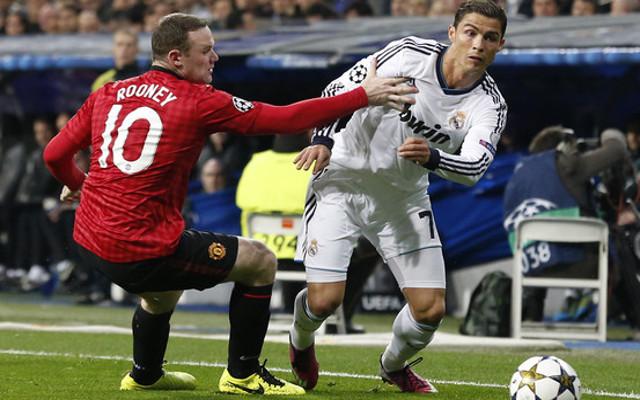 Wayne Rooney Cristiano Ronaldo