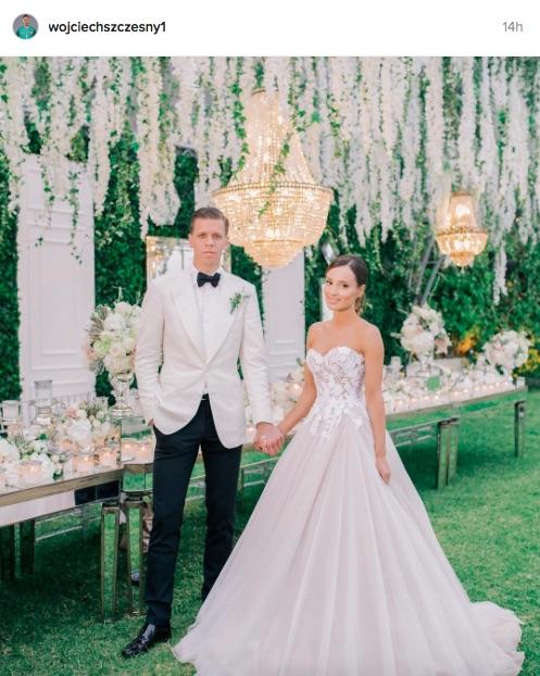 Wojciech Szczesny wedding