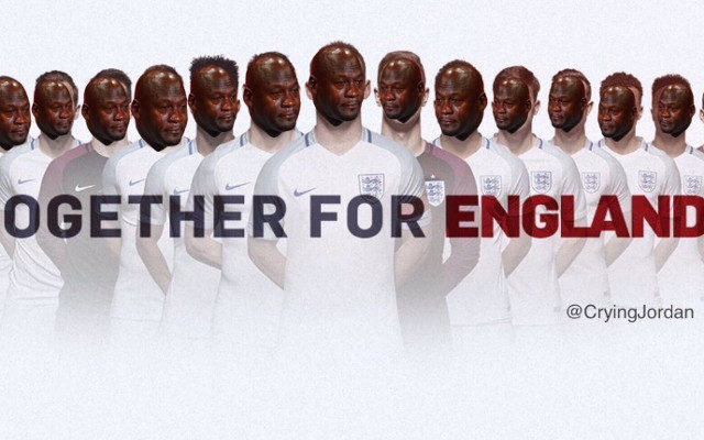 Crying Jordan England 640x400 images) top tweets and memes from england's 2 1 loss to iceland