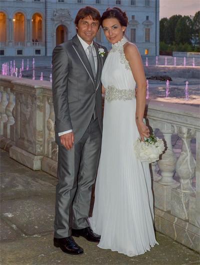 Elisabetta Muscarello and Antonio Conte wedding day