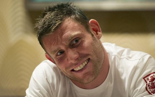 James Milner funny smile