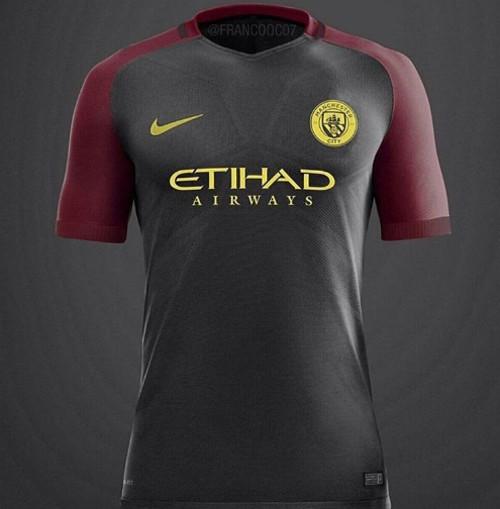 New Man City away kit 1