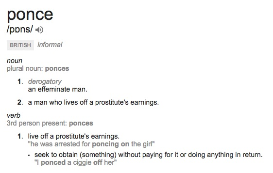 Ponce definition
