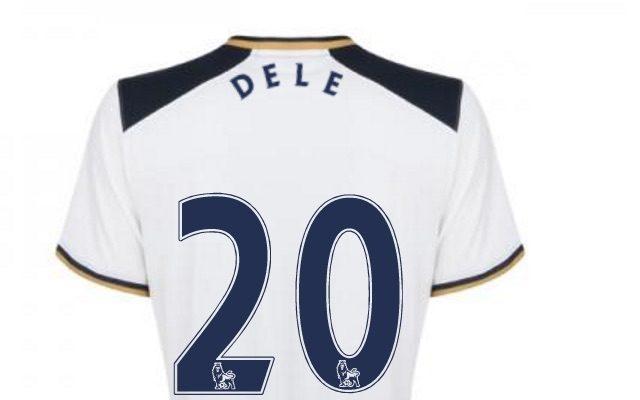 first rate 2d16f 1073e New Dele Alli shirt: Tottenham no.20 rebranded