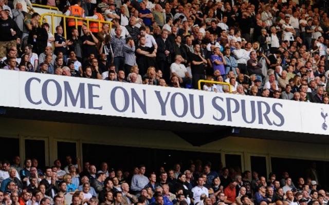 Tottenham Hotspur fans at White Hart Lane