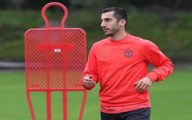 d367a4a00c4 Henrikh Mkhitaryan s Manchester United future in doubt after midweek snub  by Jose Mourinho
