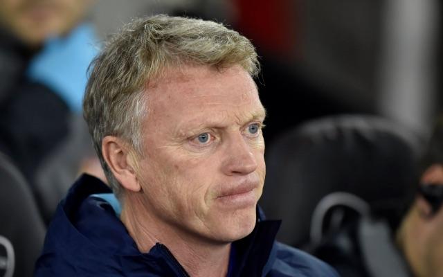Sad David Moyes, Sunderland manager
