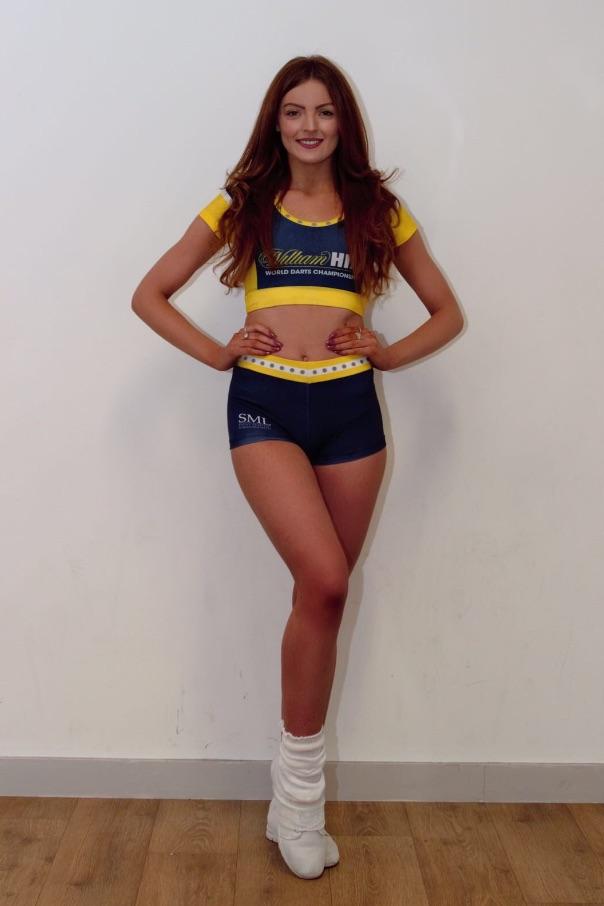 Alicia-May Redman (PDC darts dancers)