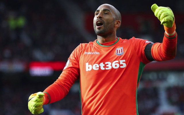 Lee Grant Stoke City goalkeeper