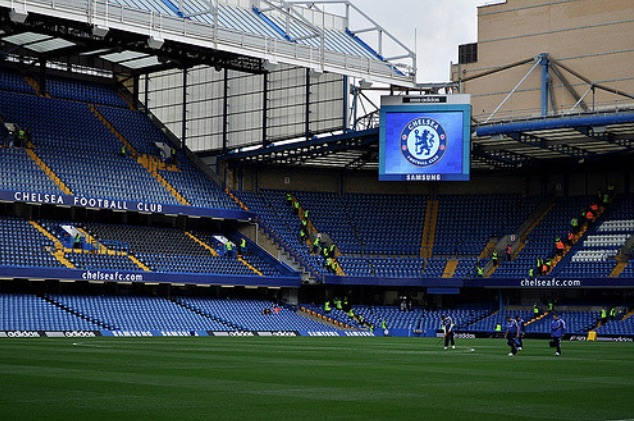 Stamford Bridge big screen