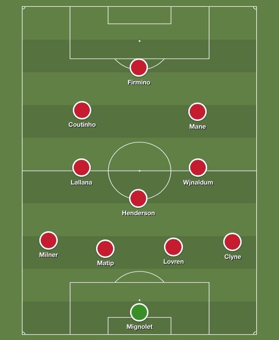 Best Liverpool XI