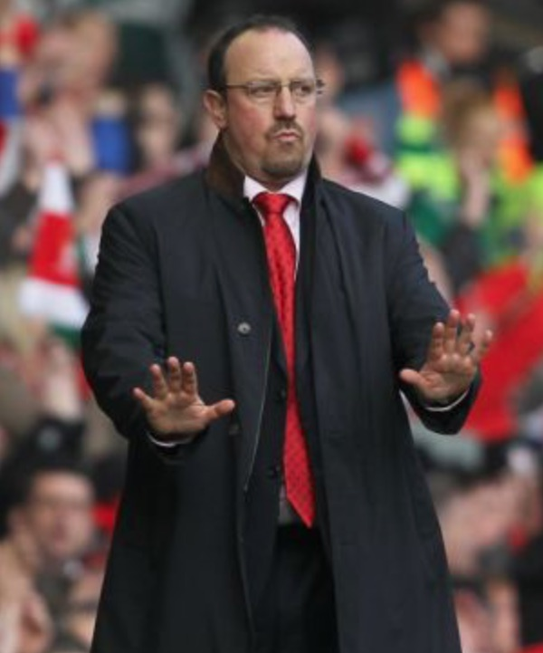 Calm Rafa Benitez