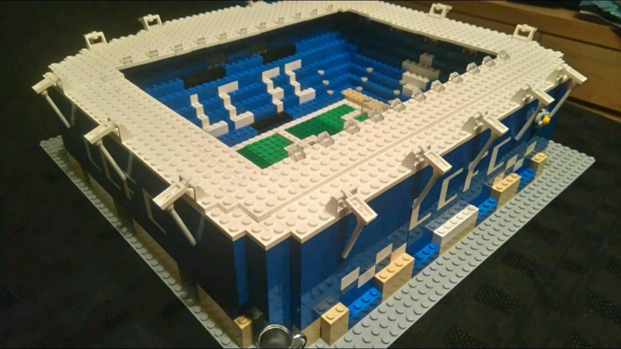 Lego Leicester City stadium