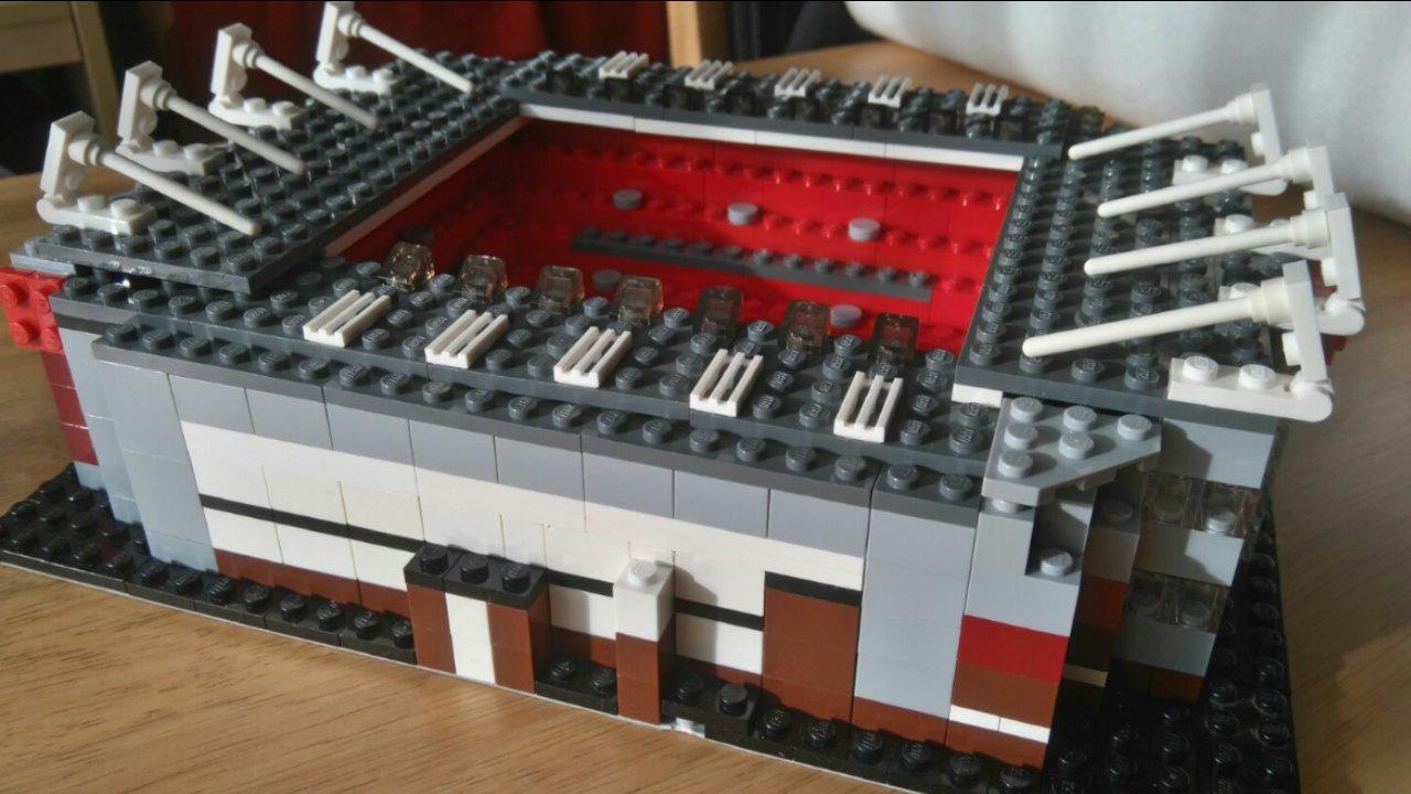 Lego Old Trafford