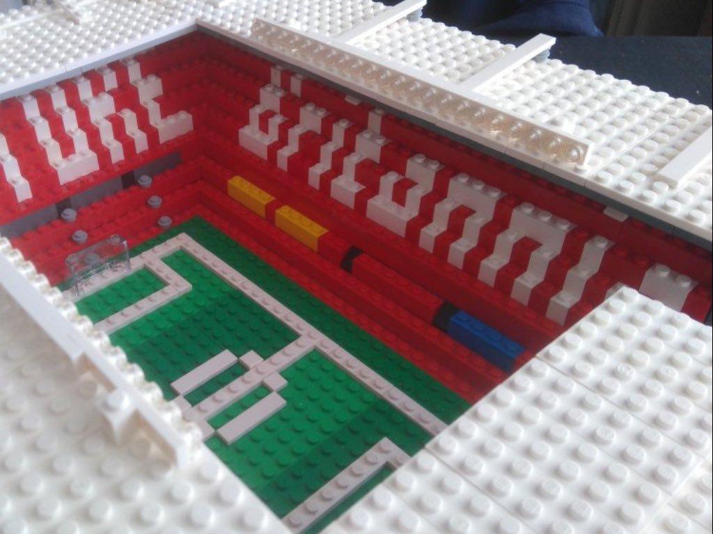 Lego Stoke City stadium