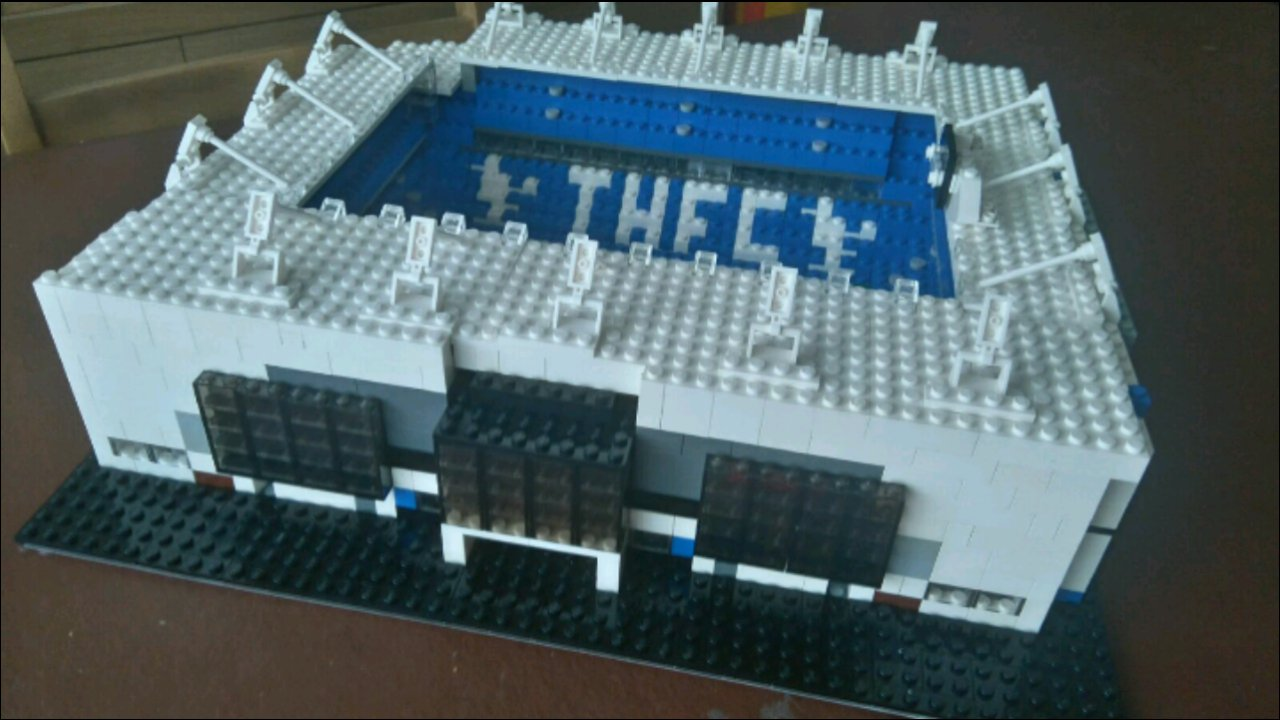 incredible lego anfield and stamford bridge models incredible lego anfield and stamford