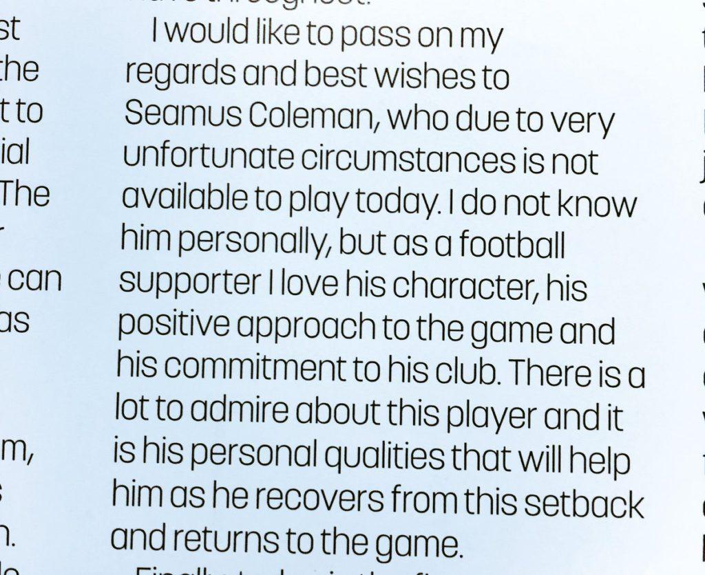Coleman tribute