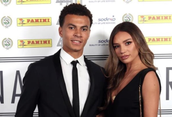 Dele Alli and girlfriend Ruby Mae at PFA awards