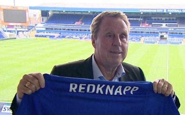 Harry Redknapp Birmingham City manager