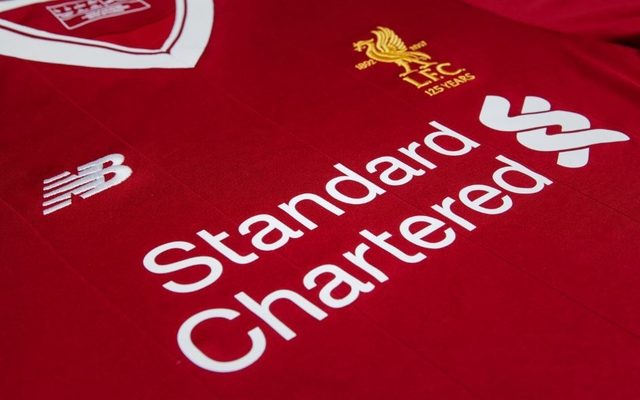 6df5e5c4b Liverpool unveil new home kit and crest to celebrate 125th anniversary
