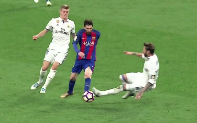 tries 2-3 Madrid Barcelona: Real Ramos to  (Video) Sergio