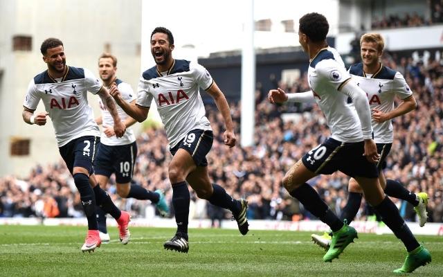 Spurs celebrations