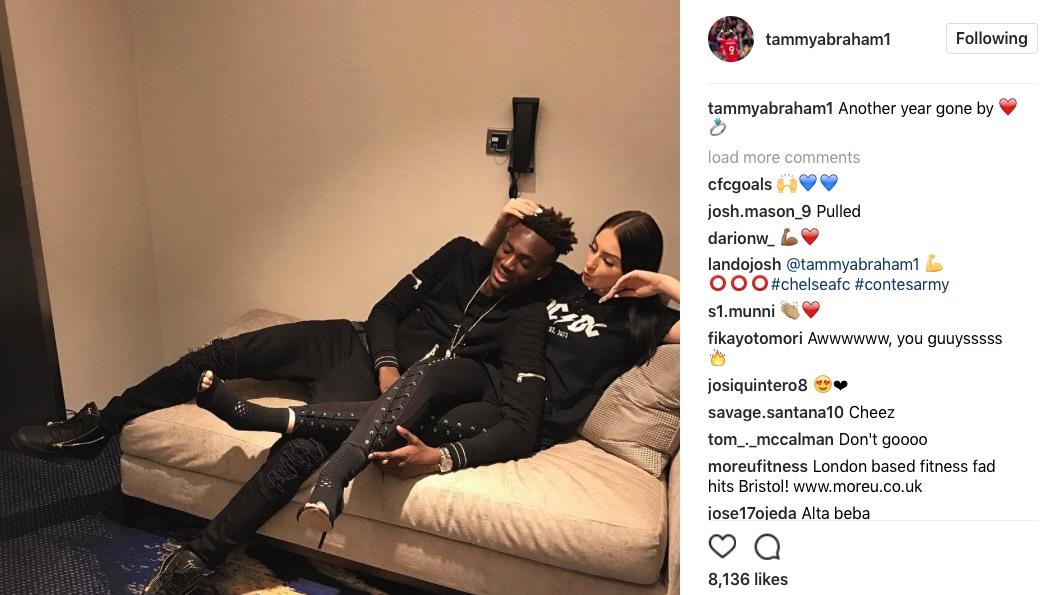 Tammy Abraham girlfriend