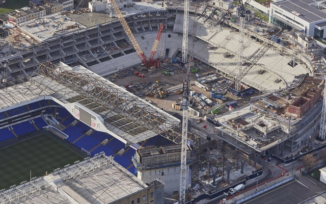 White Hart Lane new and old