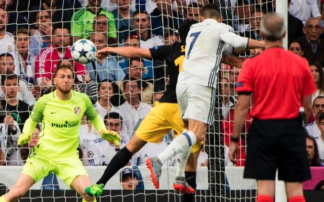 Cristiano Ronaldo goal vs Atletico Madrid