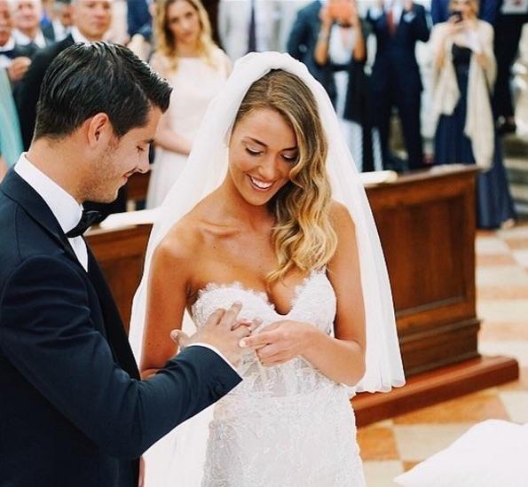 Alice Campello and Alvaro Morata wedding