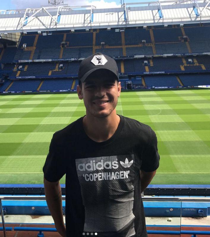 Alvaro Morata at Stamford Bridge