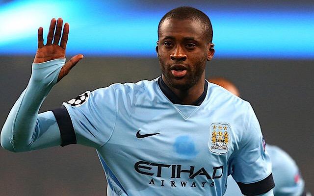 Yaya Toure. Is Man City vs Brighton on TV