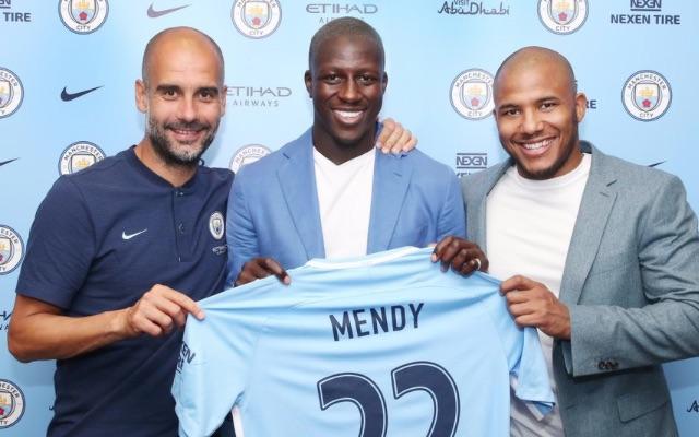 Benjamin Mendy signs for Man City