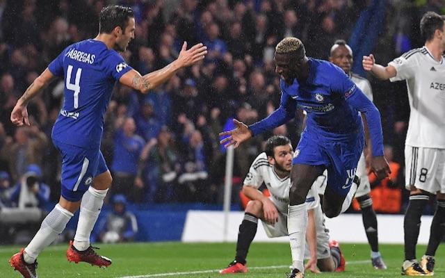 Bakayoko first Chelsea goal
