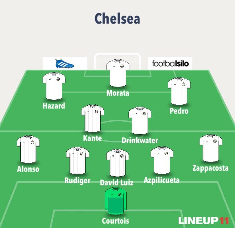 chelsea line up 1