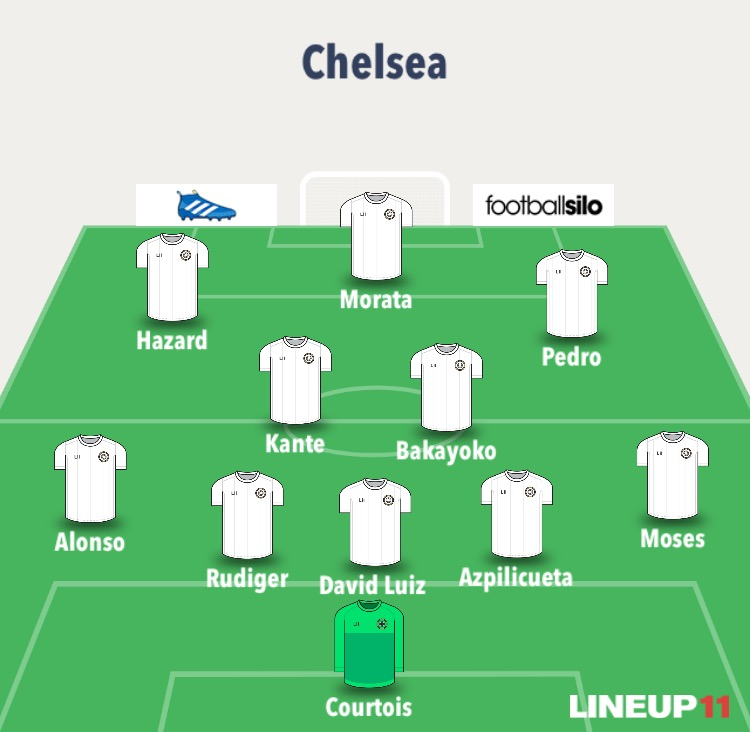 chelsea line up 2